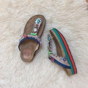 Maliparmi platform embellished Sandal